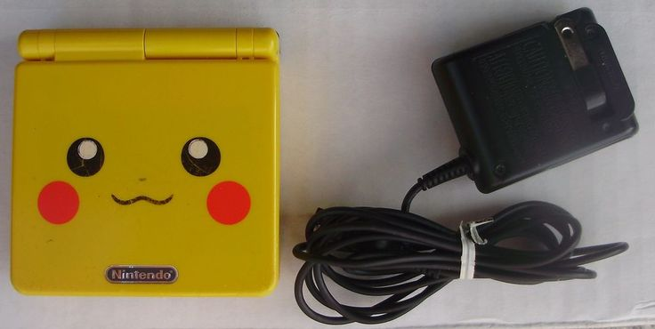 Pokemon Pikachu Game Boy Advance SP System gameboy Limited Special Edition  $150
