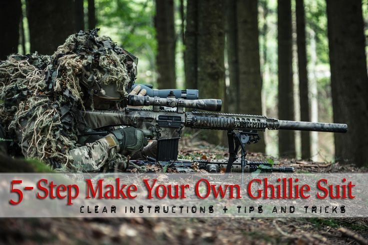 5 Steps to Make Super Camo, Badass Ghillie Suit for Survival – Geek Prepper