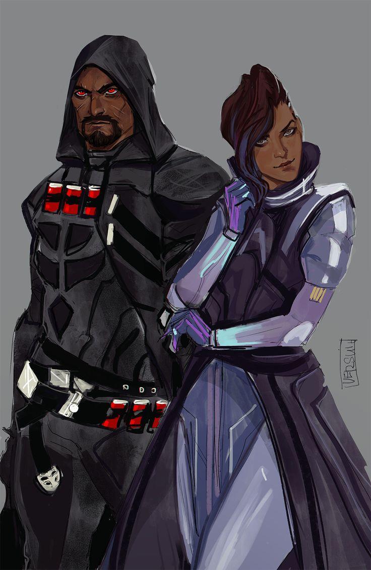 Overwatch Character Design Analysis : Sombra overwatch reaper blizzard