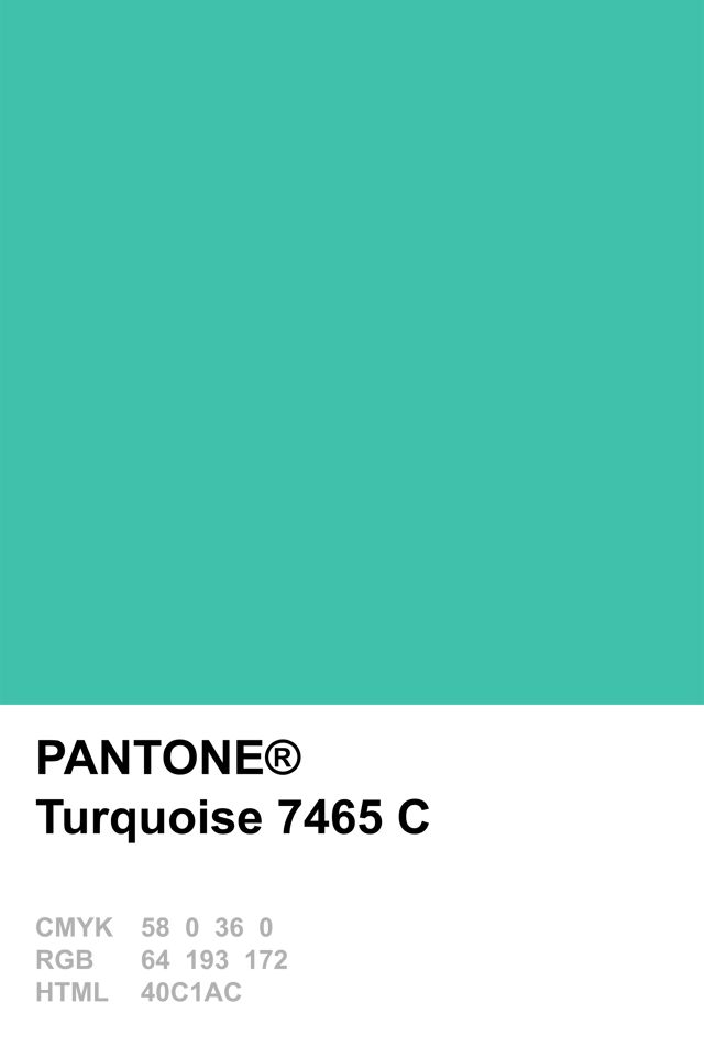 Pantone Colour Of The Year 2010 Turquoise