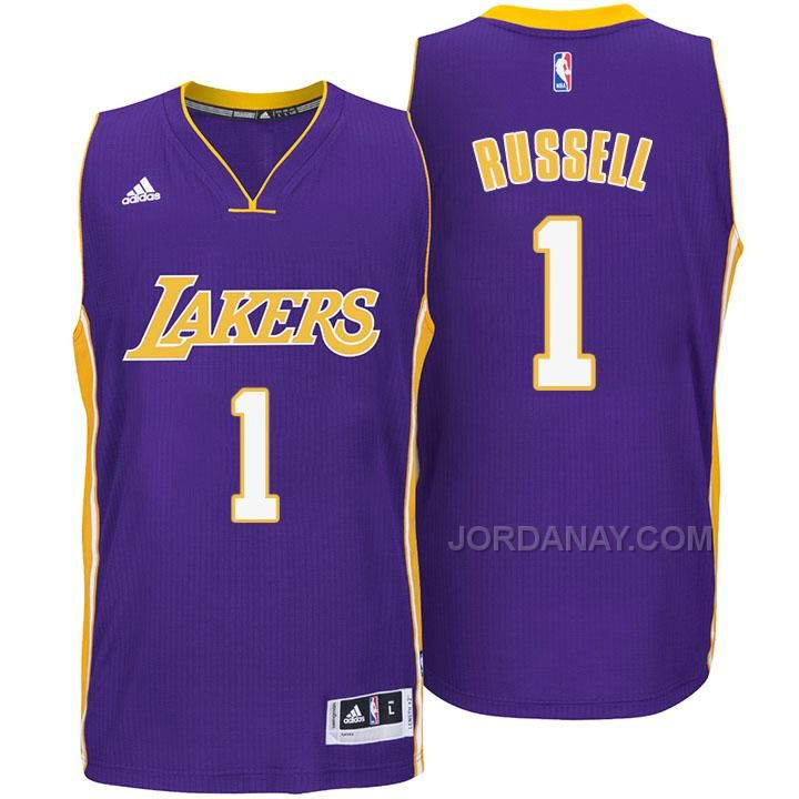 ... Black With Gold Jersey lakers dangelo russell new swingman purple short  sleeves jersey Youth Los Angeles ... d2f252921