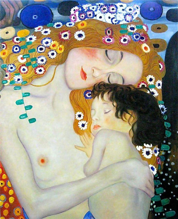 #Madre   From   @GustavKlimtArt