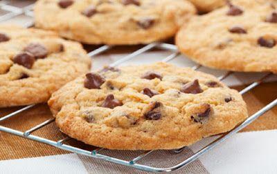 Resep Choco Chip Butter Cookies Yang Lezat dan Gurih : Cara Membuat Kue Mentega Kering Yang Lezat dan Gurih