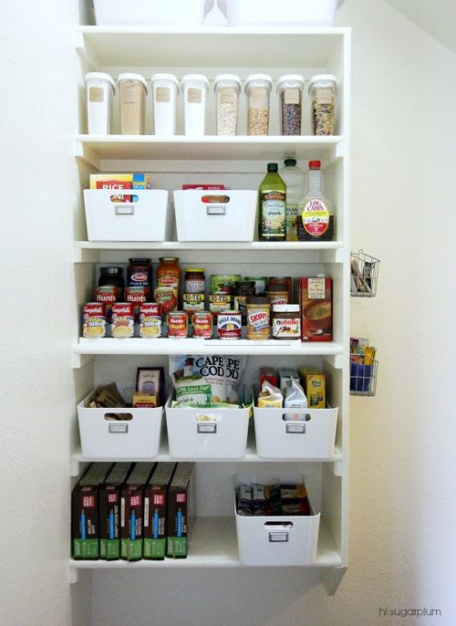 14 Best Images About Pantry Ideas On Pinterest Hidden