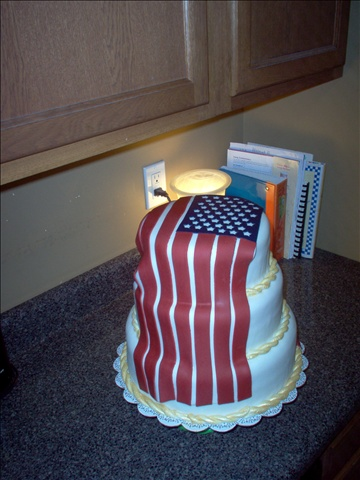 Retirement cake  Very awesome!!  Maybe I could attempt that for Chad's retirement party!!