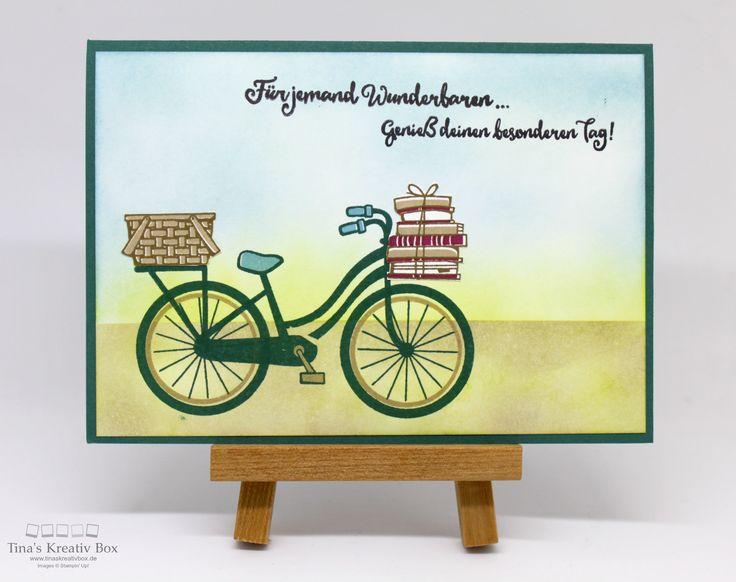 Team Swap Karte - Bike Ride, mit Proukten von Stampin' Up!