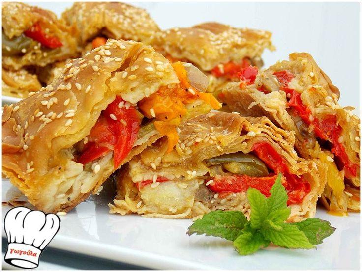 ΠΙΠΕΡΟΠΙΤΑ ΝΗΣΤΙΣΙΜΗ ΜΕ ΦΑΝΤΑΣΤΙΚΟ ΦΥΛΛΟ!!! | Νόστιμες Συνταγές της Γωγώς