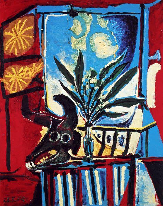 Les 118 meilleures images propos de nature morte sur - Picasso nature morte a la chaise cannee ...