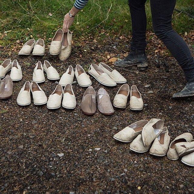 Footwear for our dancing druids. #OutlanderSeries #STARZ from Outlander Starz instagram