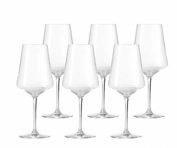 Leonardo wine glass architecture of the wine glass Tulip red wine puccini