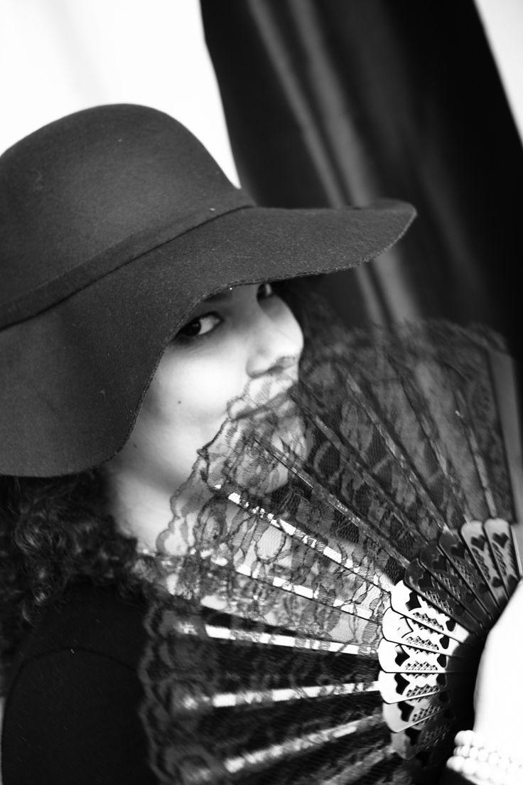 #blackandwhite #hat #fan #rogue
