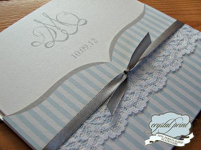Striped lace pocket by crystalprint, via Flickr