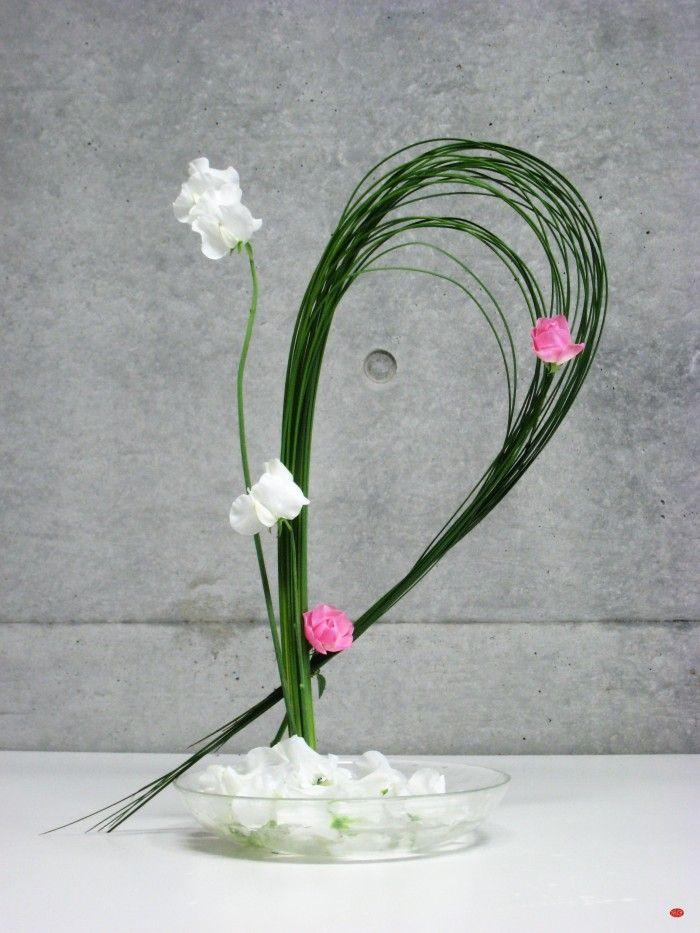 1000 images about leaf flora design on pinterest rose for Japanese flower arranging crossword clue