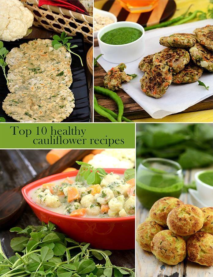 Top 10 Healthy Cauliflower Recipes | TarlaDalal.com | #101