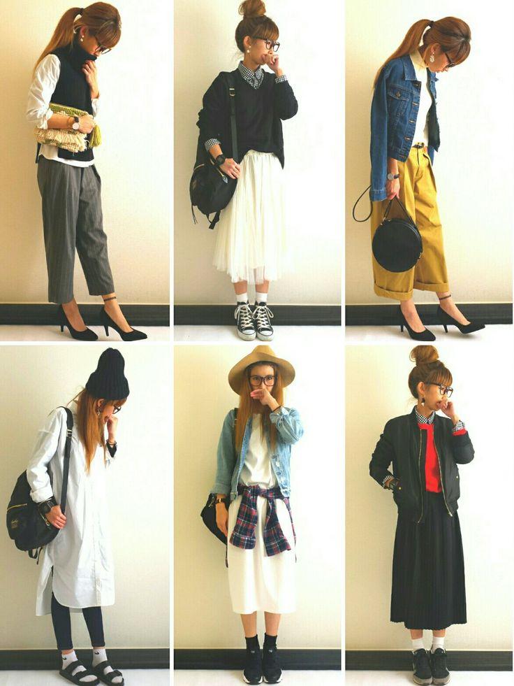 Ayumiさんのパンツ「AZUL by moussy ストライプタックワイドPT」を使ったコーディネート