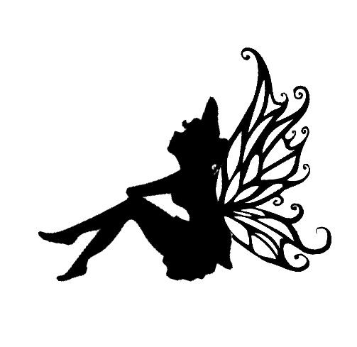 Image result for silhouette fairy jars | Fairy Silhouettes ...