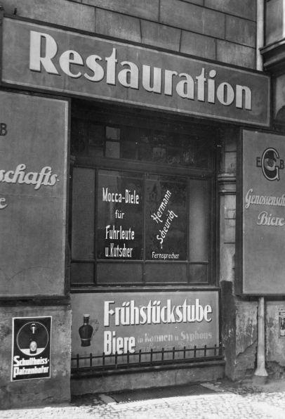 Berlin, Mocca-Diele, 1929