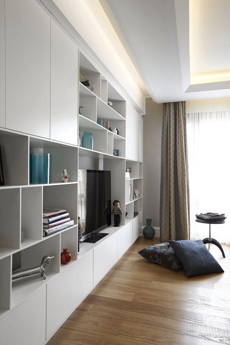 Tv Room - House Interior - Onur Koksal