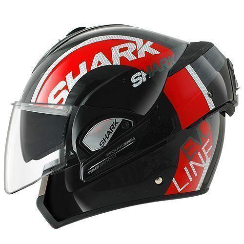 casco moto modulare Shark Discovery Division Evoline Series 3 drop