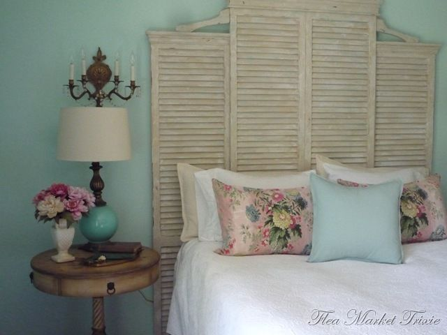Cool turquoise and white color scheme with just a touch of soft pink! Girly but not too girly!!