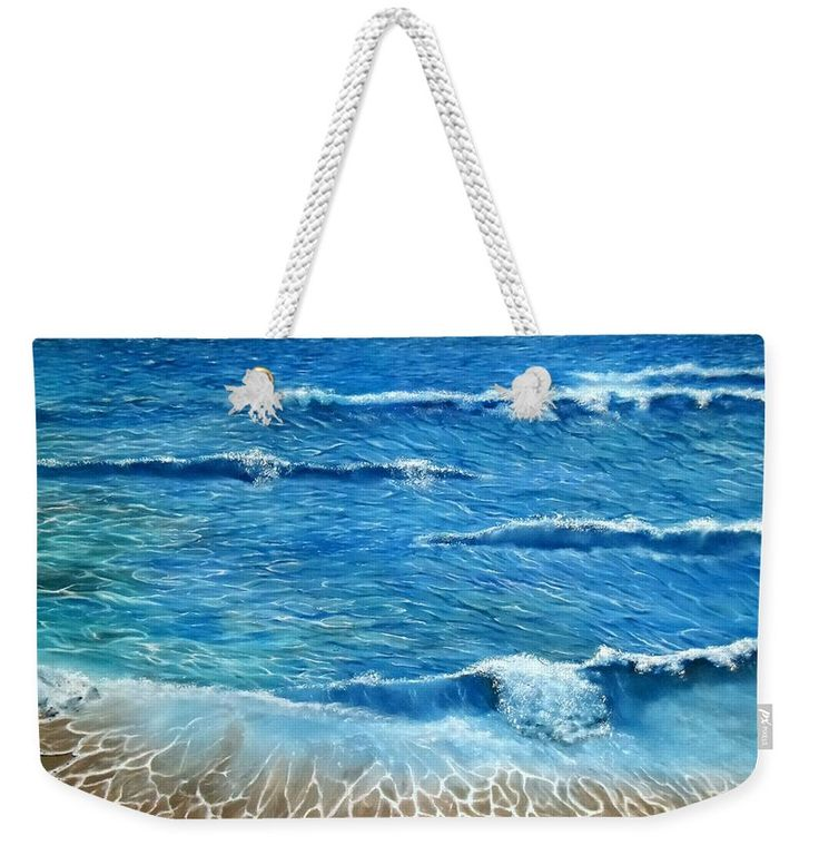 Weekender Tote Bag,  blue,cool,beautiful,fancy,unique,trendy,artistic,awesome,fahionable,unusual,accessories,for,sale,design,items,products,gifts,presents,ideas,coastal,waves,sea
