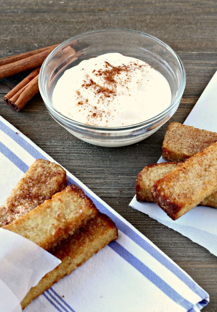 A delish dip to try with our new Bakery Cinnamon French Toast Sticks. #Breakfast is served!