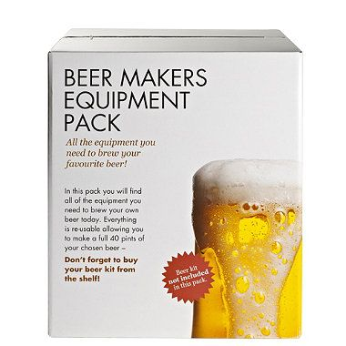 Beer Makers Deluxe Equipment Box - From Lakeland