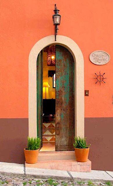 Southwest doors in San Miguel de Allende, Guanajuato, Mexico.
