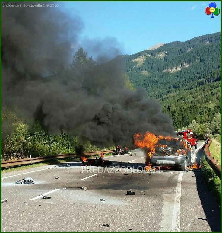 incidente fondovalle panchià 5 settembre 2016 Incidente mortale sulla fondovalle…