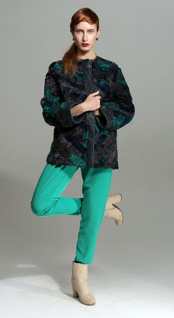"Colored Fur | Купить ""Городская мода"" куртка - шуба, mexdizain, городская мода, casual, шубка, color casual"