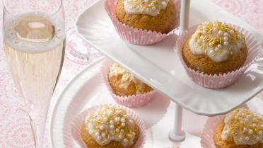 Cupcakes met citroen en kokosnoot