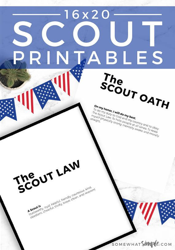 It is a photo of Versatile Boy Scout Oath and Law Printable