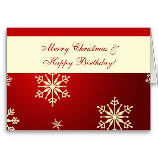 78 best christmas cards from zazzle images on pinterest merry christmas happy birthday snowflakes on red greeting cards bookmarktalkfo Images
