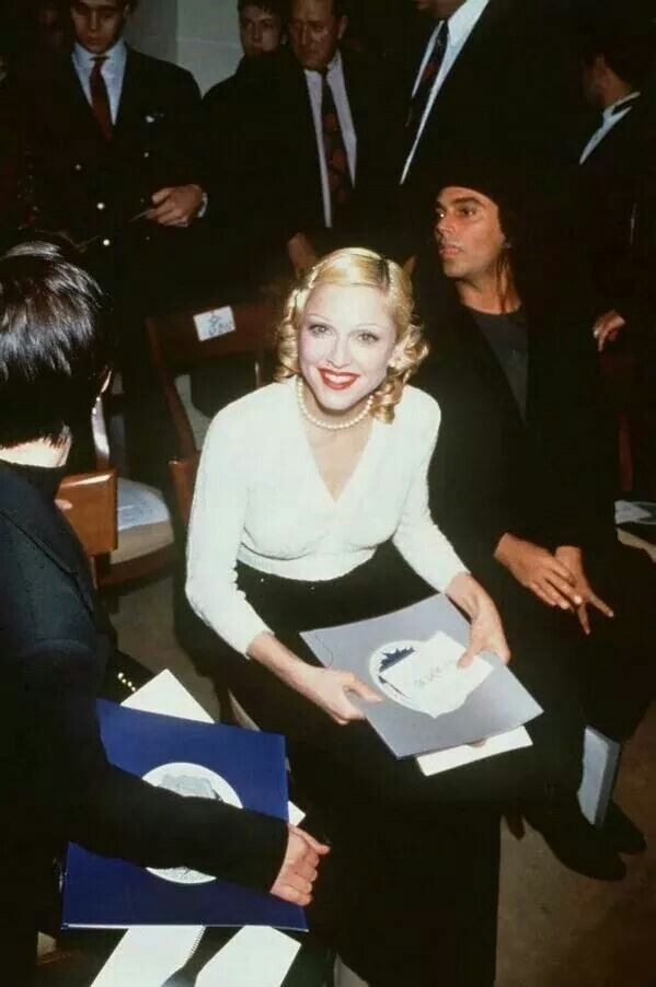 Madonna and Steven Meisel in 1993