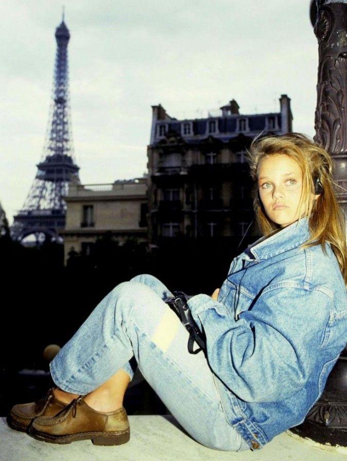 Vanessa Paradis à Paris - années 90                                                                                                                                                      More