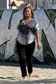 Queen Latifah Skinny Pants
