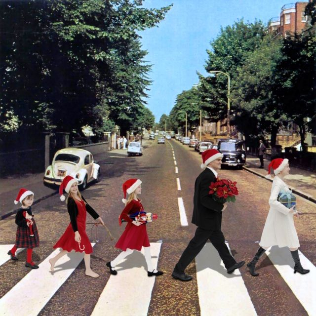 Beatles album cover