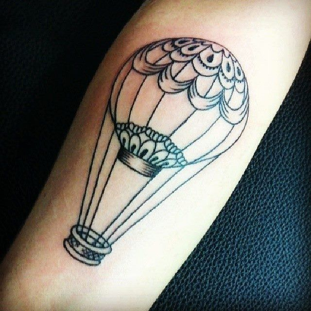 Best 731 Hot Air Balloon Tattoo Images On Pinterest