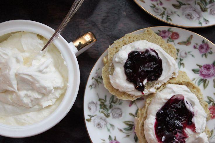 Devonshire Cream {A Recept} - Broodjes Erwten & Wortelen