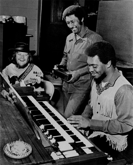 Booker T on his Hammond Organ. One of my favourite hammond organ players ever! Such a talent - as if he was divinely inspired!