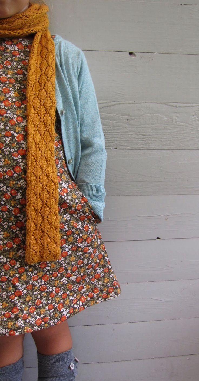 Toertjes&pateekes: Een ' winterse jurk' in een HERFSTstofje!