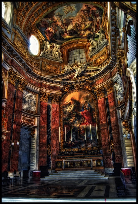 Rome the Eternal City in HDR