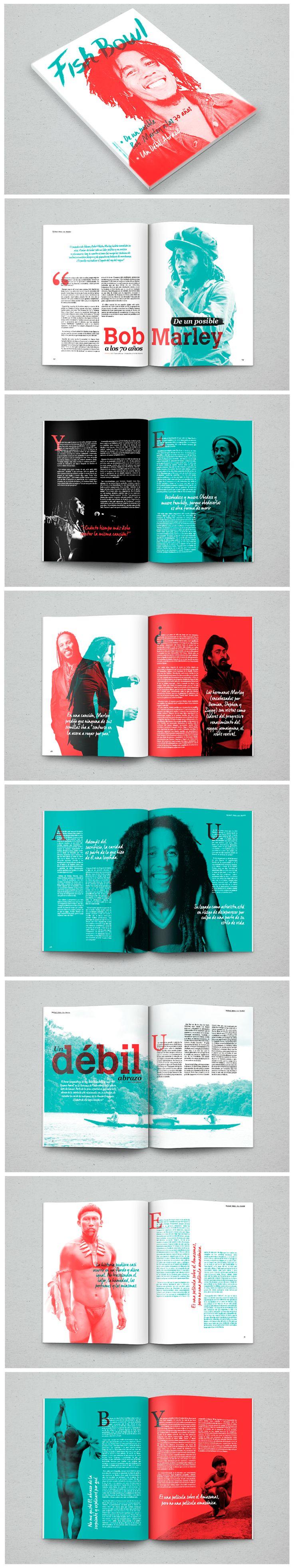 Revista Fish Bowl, es un proyecto académico creado para el taller de Diseño Editorial.
