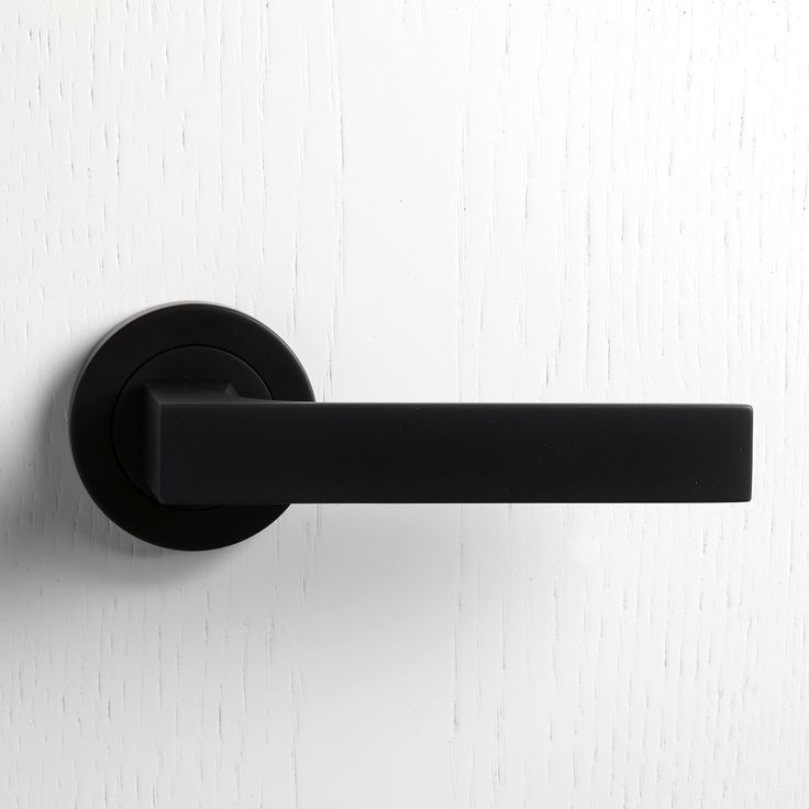 Arnaldo Dda Door Handle Ironmongery Black Door Handles