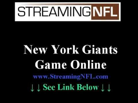 Watch Giants Game Online | NY Giants Live Steaming Football Games --> http://www.youtube.com/watch?v=ftHKY8hw8qk