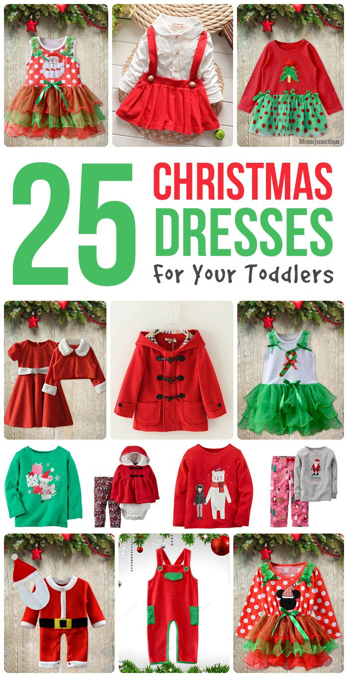 25 Beautiful Christmas Dresses For Your #Toddlers :we share some of the cutest and prettiest dresses that you will love to see your little angel sport.