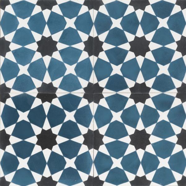 Blue Moroccan Mosaic