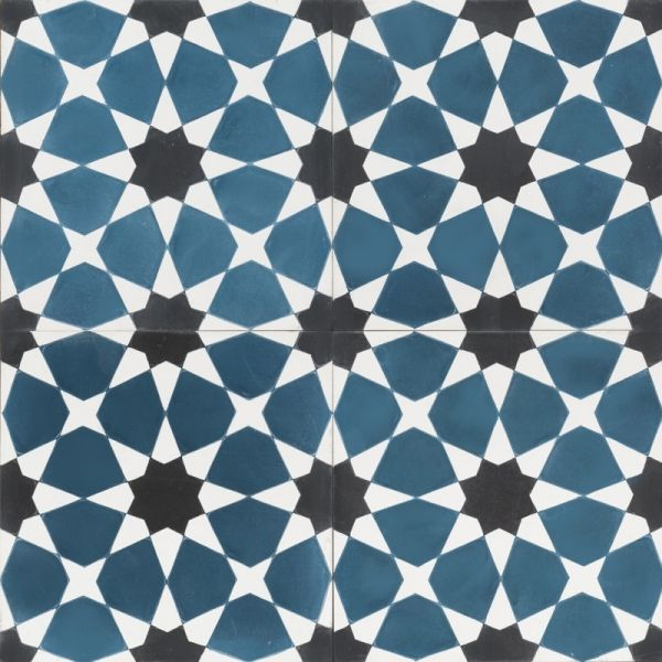 Blue Moroccan Mosaic