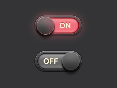 UI / Button by Sunbzy , via Behance