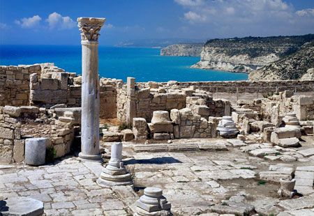 The third-largest island in the Mediterranean, Cyprus, is divided between Greece and Turkey. Sun, sand and water sports are a big draw in the Greek south, as are the many tavernas in coastal resort towns. For a richer experience, drive inland to the Troodos Mountains, where Orthodox churches display gilded icons, and seek out the ancient ruins of the many cultures that have occupied the island throughout history. If you get a chance, visit Paphos, where Aphrodite's Rock — called Petra Tou…